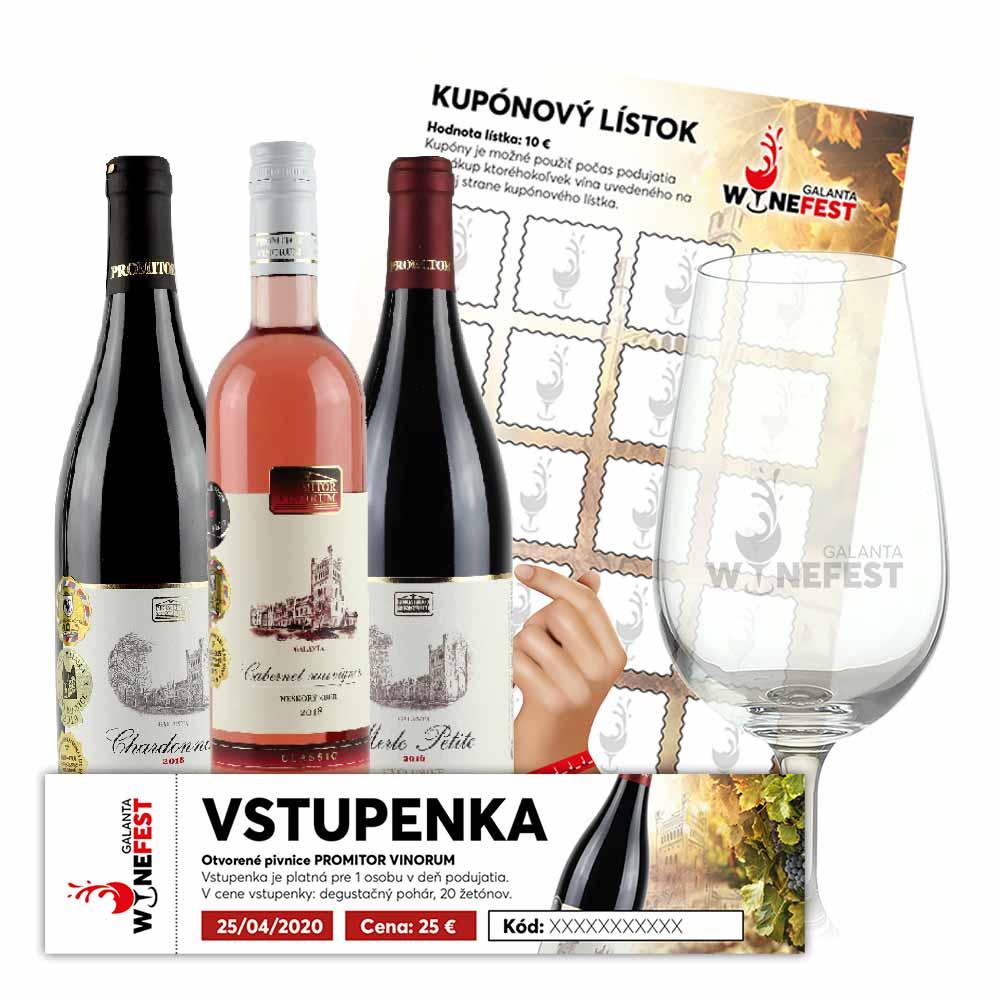 Vstupenka na podujatie WineFest Galanta pre 1 osobu | Promitor Vinorum